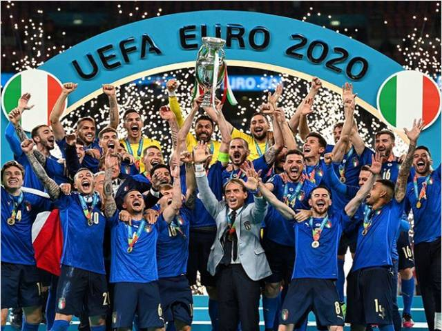 इटाली यूरो कप फुटबल २०२० को च्याम्पियन